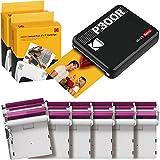 Kodak Mini 3 Retro Square Retro Impresora Fotográfica Portátil, Compatible con Dispositivos iOS, Android y Bluetooth,...