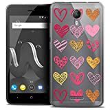 Ultra-Slim Case for 5 Inch Wiko Jerry 2, Sweetie Doodling
