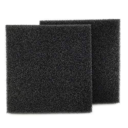 "Hipanda Filter Foam Sponges, Bio Sponge Filter Media Pad, Cut-to-Size Foam for Aquarium Fish Tank (9"" x 9"" x 1"" (2cs))"