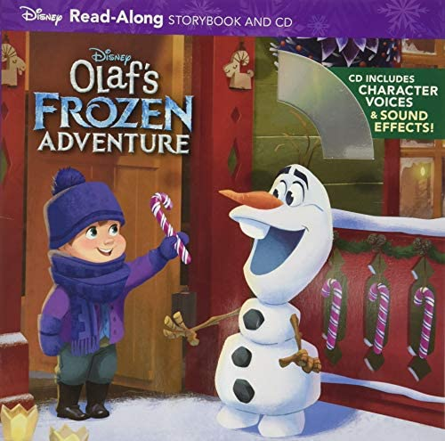 Olaf s Frozen Adventure Read Along Storybook and CD product image