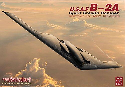 Modelcollect MOC72201 1:72 USAF B-2A Spirit Steath Bomber [Model Building KIT]