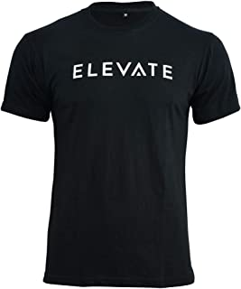 Elevate Apparel Muscle Fit Gym T Shirt for Bodybuilding Crossfit Powerlifting Weight Lifting Fitness Running Training Work...