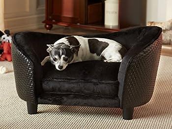 Lit Canapé pour chien Animaux Chien Basse sommeil Panier pour chien Lit « Blacky I »
