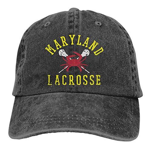 Snapback Cap Maryland Crab Lacrosse Denim Teñido En Hilo Clásico Acogedor Sombreros De Camionero Personalizados Sombrero De Papá Pesca Protección Solar Gorra De Béisbol Compras Dur