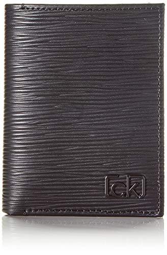Calvin Klein Coin, Carteras Hombre, Negro Blackwhite Black, 1x1x1 cm W x H L