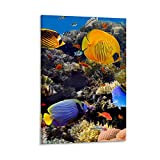 Korallenriff Poster Canvas Art Poster Picture Modern Office