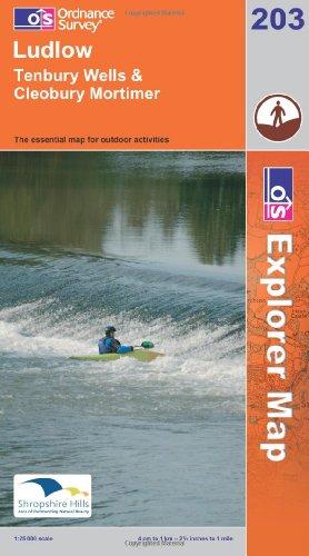 OS Explorer map 203 : Ludlow