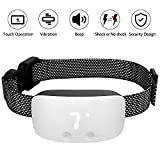 Dog Bark Collar, TIMPROVE 2020 Latest Design Backlight LED Rechargeable IP67 Waterproof Effective