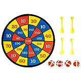 Surplex Freccette per Bambini da Appendere, Include 4 Palline 4 Freccette con Rivestimento...