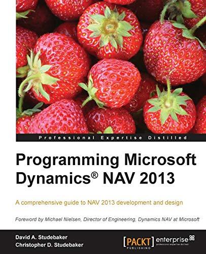 Programming Microsoft Dynamics NAV 2013 (English Edition)