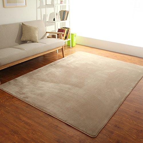 ZI LING SHOP- Alfombra Living Room Bedroom Bedside Custom Home Cubierta Sofa Coffee Table Alfombra rug ( Color : D , Tamaño : 200x250cm )