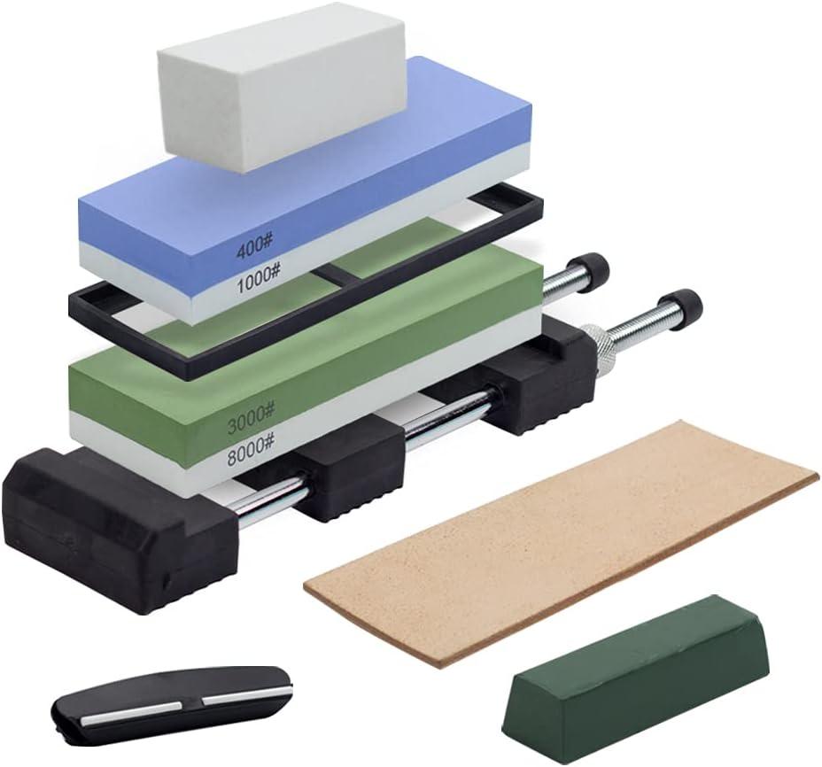 Premium Knife Sharpening San Antonio Mall Stone Holder Whetstone Industry No. 1 with Shar