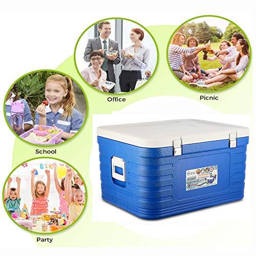 DONG Klassische Kühlbox Kühlbox GroßLebensmittelkühler Und Kaltes Getränk Picnic Beach Camping Portable.