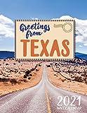 Greetings from Texas 2021 Wall Calendar