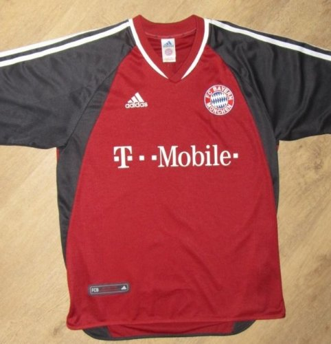 Trikot FC Bayern München Home 2002-2003 [Größe L] T-Mobile