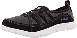 Fila Women's Pilota Memory Foam Breathable Slip On Shoe Sneaker