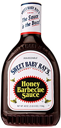 Sweet Baby Ray's Honey BBQ Sauce Squeeze Bottle, 40 oz -  1340945133