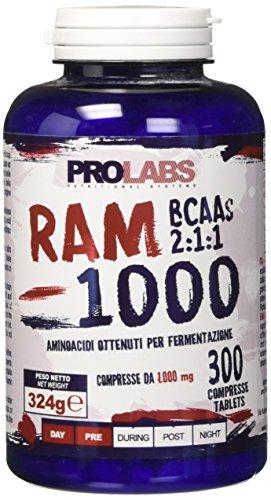Prolabs Ram 1000 Bcaa - Barattolo da 300 cpr