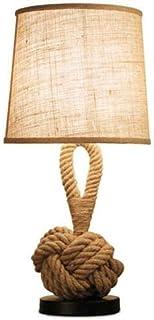 Lampe de table Lampe Rustique Rustic Rustique Chambre Creative Chambre de chevet Lampe Personnalité Barre de chevauche Déc...