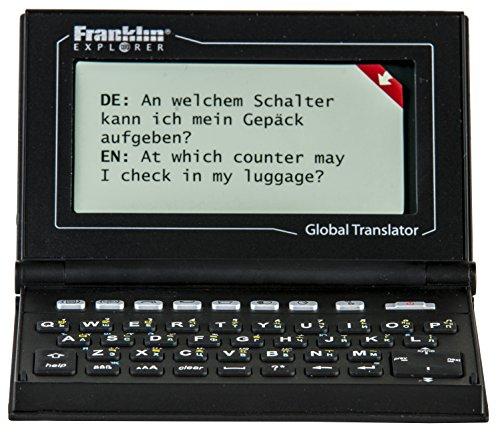 Franklin M520 Global Translator 15 Sprachen: 15-Sprachen Übersetzungscomputer