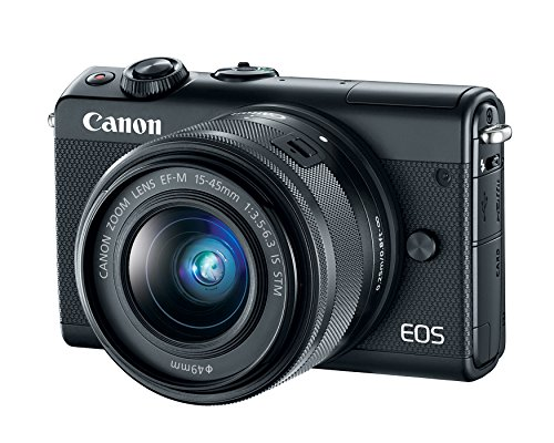 Canon EOS M100 Mirrorless Camera w/ 15-45mm Lens - Wi-Fi, Bluetooth, and NFC enabled...