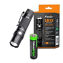 Maximum 320 Lumens output. Cree XP-G2 R5 neutral white LED for better color rendering. Uses one 1.5V AA (Ni-MH or Alkaline) Battery or Type 14500 li-ion rechargeable battery Comes with a EdisonBright AA battery