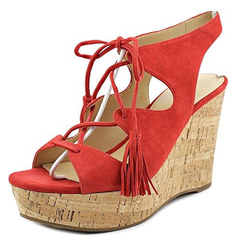 Ivanka Trump Zenia Women's Sandals & Flip Flops Medium Red Size 10 M