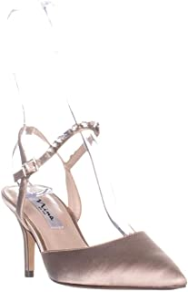 Nina Tonya Ankle Pumps, Taupe Crystal