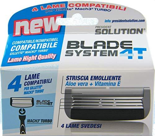 Cuchillas New Blade compatibles Mach3 Turbo 1 x 4 unidades