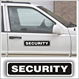 Magnet Magnetic Sign - Security for Grounds Patrol Guard Police Vehicle, Car or Truck - 3 x 14 inch Block Sold as Each