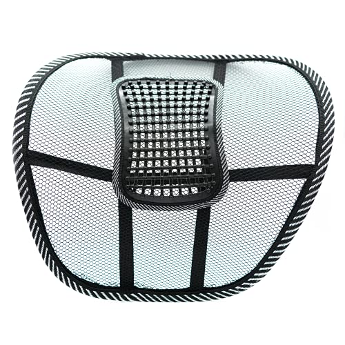 Pack de 3 cojin lumbar para silla de oficina ergonomico con