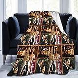 Wabaodan Gone with The Wind Ultra-Soft Micro Fleece Blanket 50' X40