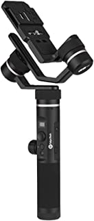 FeiyuTech G6 Plus 3-Axis Stabilized Handheld Gimbal OLED Screen Follow Focus Zoom In & Out WiFi + APP BT Dual Connection for Sony RX100 a6300 a6500 RX0 for Canon M10 G3X for GoPro Hero Series of