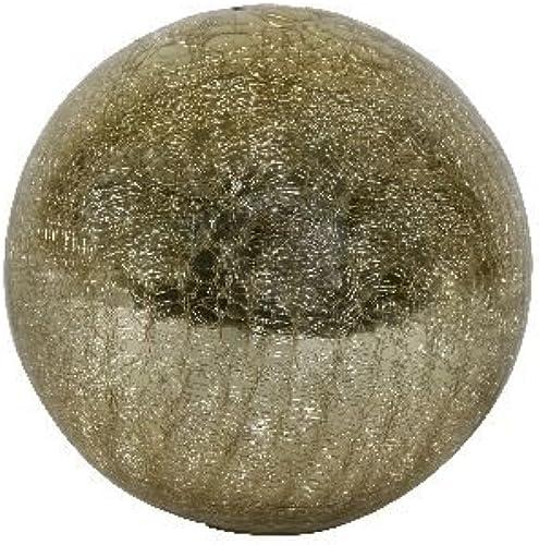 Deko Craquele Kugel Gold 15cm - Liefermenge 3 Stück