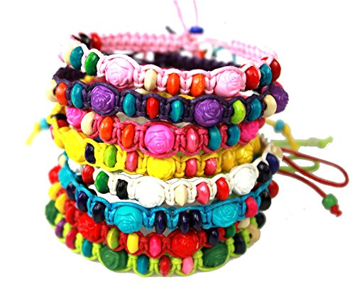Syleia Colorful Friendship Bracelets...