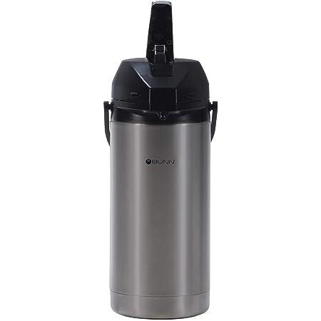 BUNN 3.8 Liter Lever-Action Airpot, Stainless Steel, 36725.0000