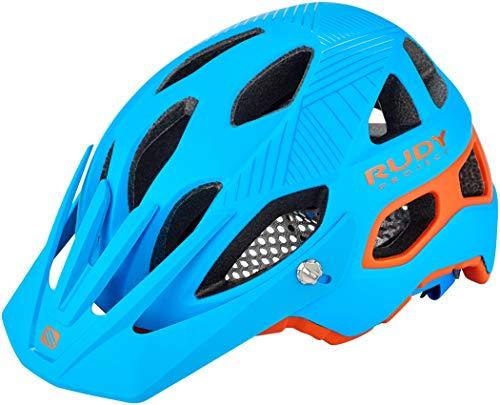 Rudy Project Protera Helm Blue-orange Matte Kopfumfang S-M | 54-58cm 2019 Fahrradhelm