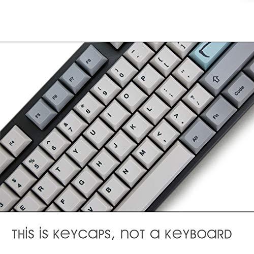 Man-hj Keyboard keycaps Five-Sided Dyesub PBT Profile Theme Keycap Bar 6.25U Novelty Keycap Space ESC Enter Keycaps for Keyboard
