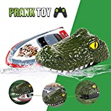 Electric Racing Boat, Crocodile Remote Control Boat Kit, 2.4G High-Speed...