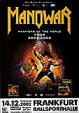Manowar - World Tour 2002, Frankfurt 2003 »