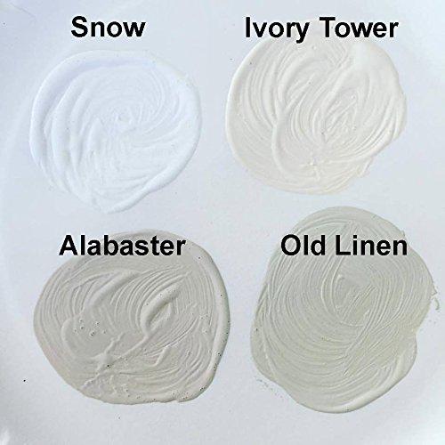 Retique It Chalk Finish Renaissance Furniture Paint, Wax Kit, 01 Snow