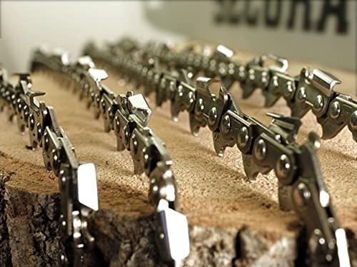 SECURA 4x Sägekette 40cm 3/8 1,3 mm 55...