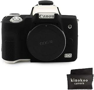 kinokoo - Carcasa de silicona para cámara Canon EOS M50 (goma)