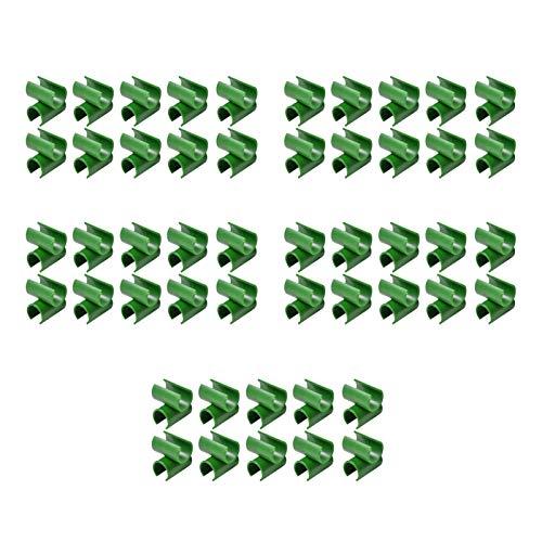Clip Universal De Jardinería, Piezas De Soporte De Conector De Hogar Multifuncionales, Herramientas De Sujeción De Red De Sombrilla, Hebillas De Plástico Para Películas De Invernadero, Φ 8 Mm
