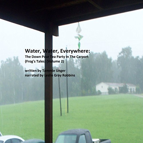 Water, Water, Everywhere Book 2: The Down Pour Tea Party in the Carport audiobook cover art