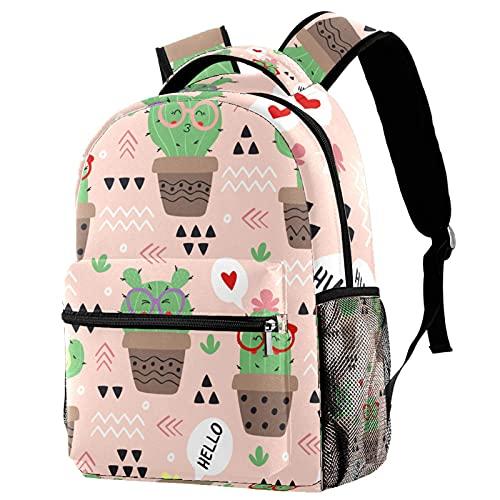 Yuanmeiju Rainbow Cute School Backpack Book Bag Mochila de viaje para hombres y mujeres