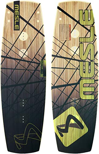 MESLE Wakeboard Airtime P 138 cm, Wettkampf-Board mit Grind-Base für Wakeparks
