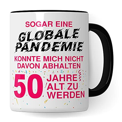 50. Geburtstag Frauen Tasse, Geschenk 50 Geburtstag Frau, Becher 50 Jahre alt werden Spruch Kaffeebecher Geschenkidee, Kaffeetasse 1971 Jahrgang Geburtstagsgeschenk Witz 2021