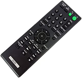 Universal Replacement Remote Control Fit for Sony DVP-CX985V DVP-NS611H DVP-NS611HP DVP-NS710H DVP-CX777ES DVP-SR200P DVP-SR400P DVD Player (1 PCS)