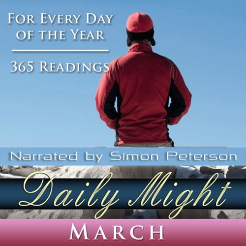 Daily Might: March audiobook cover art